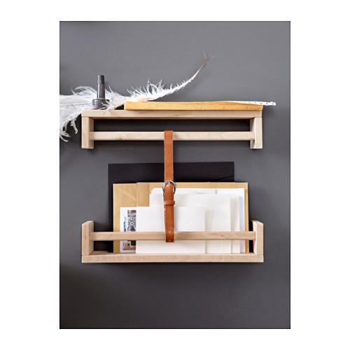 ikea bekv m gew rzregal regal ablage gew rz holz birke tassimo massivholz neu 46737687930 ebay. Black Bedroom Furniture Sets. Home Design Ideas