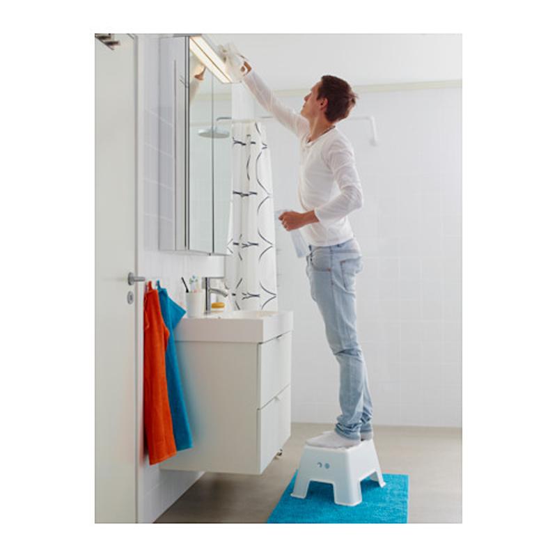 ikea bolmen hocker kindertritt kinder stufe wei tritthocker badezimmerhocker ebay. Black Bedroom Furniture Sets. Home Design Ideas
