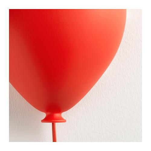 ikea dr mminge kinderlampe wandleuchte kinderzimmer wandlampe lampe baloon neu ebay. Black Bedroom Furniture Sets. Home Design Ideas