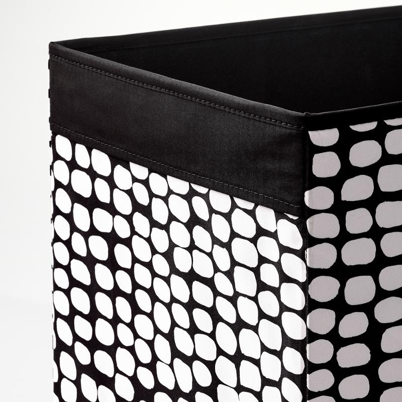 IKEA DRÖNA Fach Box Expedit Kallax Aufbewahrungsbox schwarz//weiß NEU
