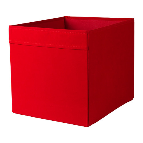 ikea dr na fach box f r expedit kallax aufbewahrungsbox 33x38x33cm rot ebay. Black Bedroom Furniture Sets. Home Design Ideas
