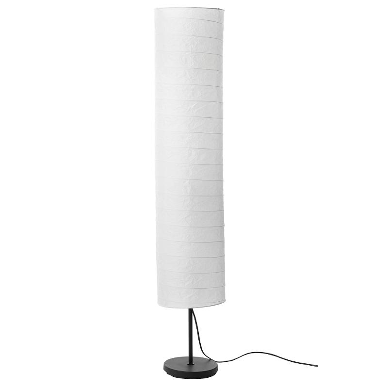 IKEA HOLMÖ Stehlampe Standleuchte aus Papier Standlampe Stehleuchte ...