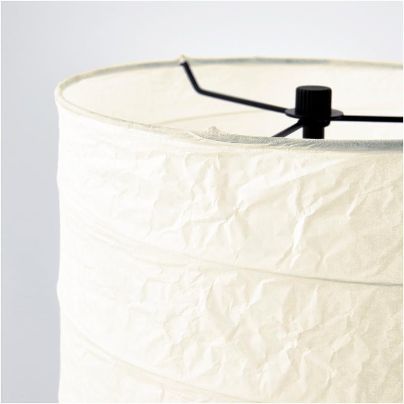 ikea holm stehlampe standleuchte aus papier standlampe stehleuchte lampe 117cm ebay. Black Bedroom Furniture Sets. Home Design Ideas