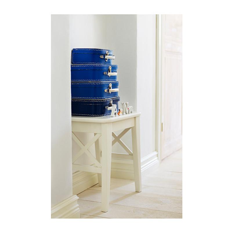 ikea ingolf hocker stuhl landhaus massivholz wei neu ovp ebay. Black Bedroom Furniture Sets. Home Design Ideas