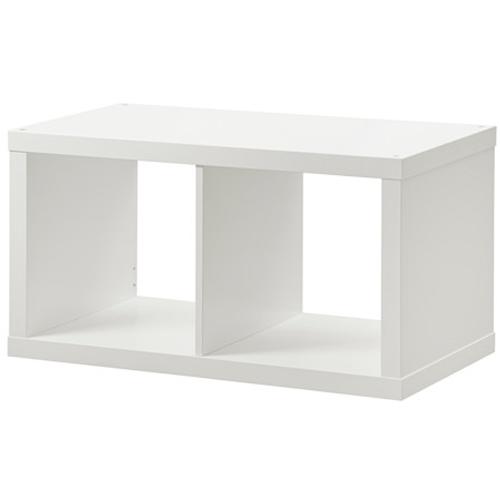 Wandregal ikea weiß  IKEA KALLAX Regal Wandregal Doppelwürfel Cube 77x39x42cm 77x42 cm ...