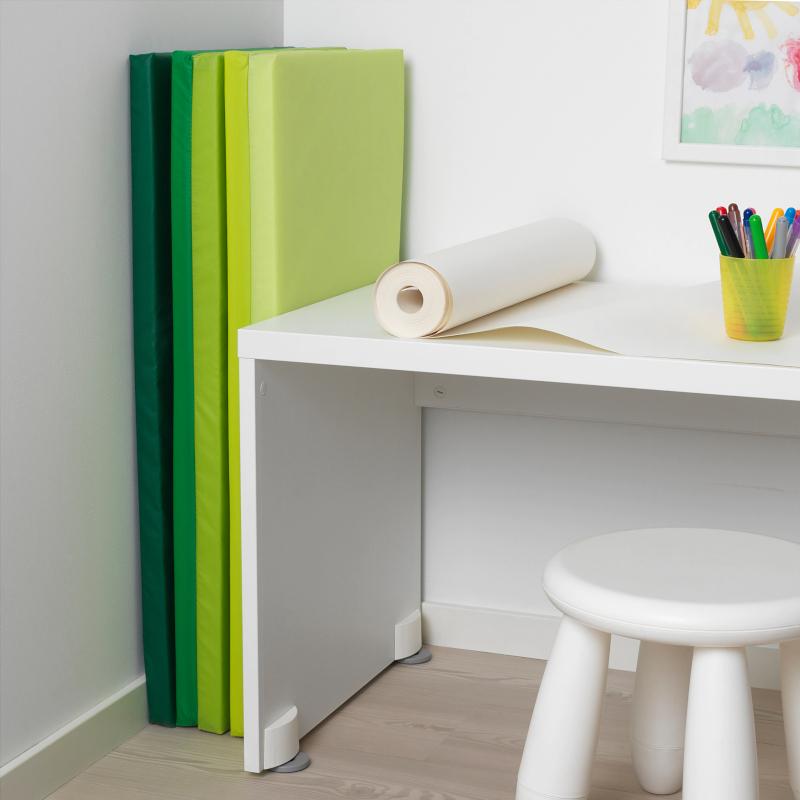 IKEA PLUFSIG Gymnastikmatte faltbar 78x185cm Turnmatte Sportmatte Bodenmatte NEU | eBay