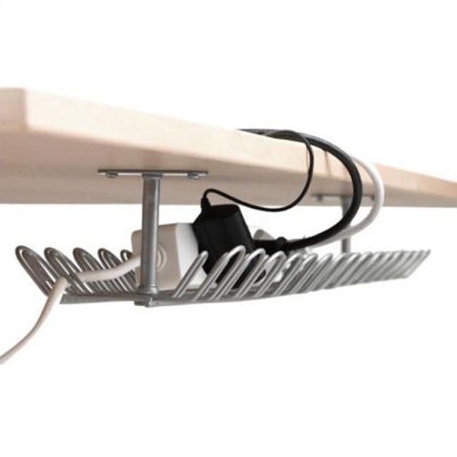 kabelorganisation kabelkanal kabelsammelhalter kabelordner f r schreibtisch neu ebay. Black Bedroom Furniture Sets. Home Design Ideas