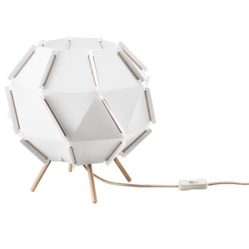 ikea sj penna tischleuchte in wei nachttischlampe nachttischleuchte lampe ebay. Black Bedroom Furniture Sets. Home Design Ideas